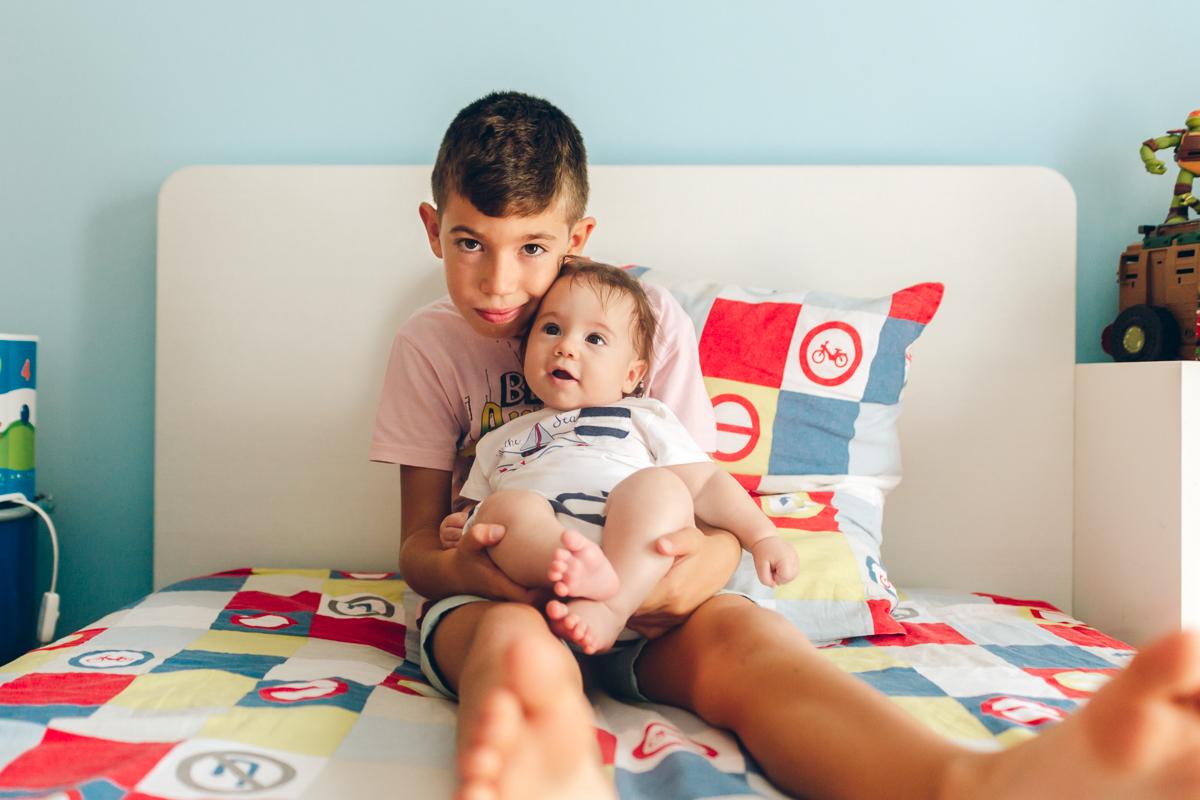 Yellow Savages Sessão fotográfica de recém-nascido em casa